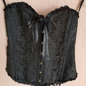 Other - Strapless Brocade Boned Corset size 3XL